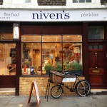 Niven's fine food shop front