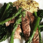 whatamess-rib-eye-chunky-bernaise-obigatory-asparagus-beauts