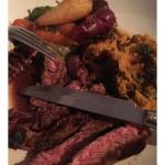rib-eye-sweet-potato-chard-bubble-colourful-carrots-Sunday-supper-nivensfood-instafood
